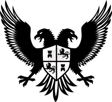 Heraldic eagel