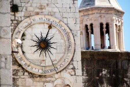 Clock Tower of Split, Croatia