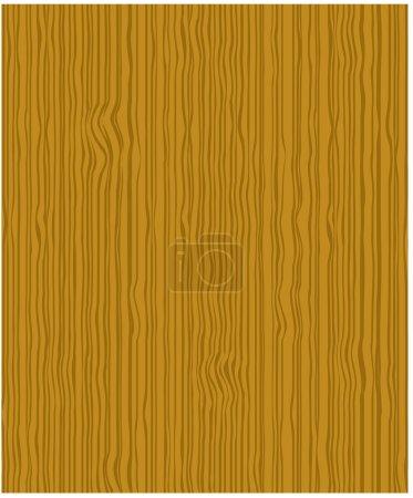 Illustration pour Vecteur lite brun texture bois - image libre de droit
