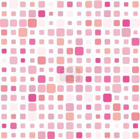 Pink mosaic background