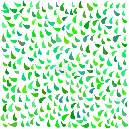 Leaf retro pattern