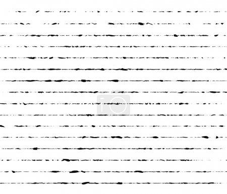 Illustration for Grunge lines, illustration on white background - Royalty Free Image