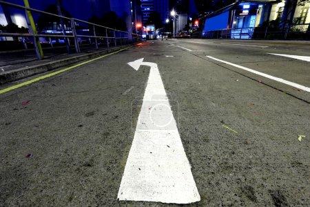Direction, turn left