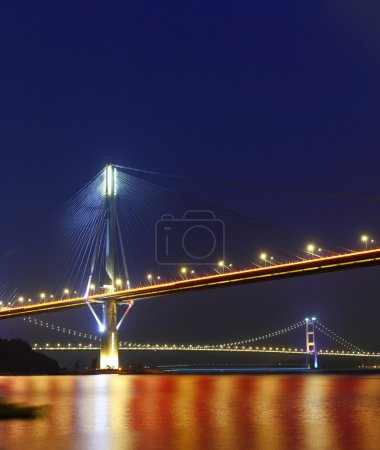 Ting Kau Bridge and Tsing ma Bridge