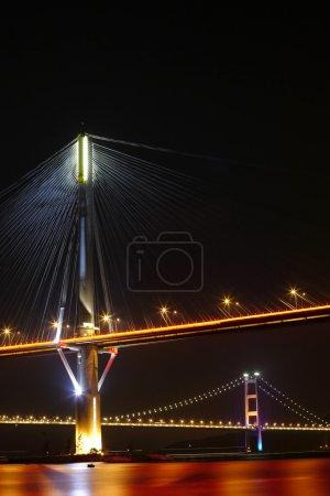 Ting Kau Bridge and Tsing ma Bridge