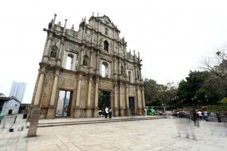 Cathedral of Saint Paul in Macau