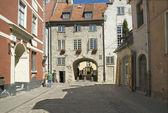 The Swedish gate in Riga