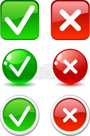 Validation buttons.
