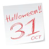 Halloween kalendář