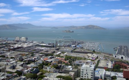 San Francisco North Beach, Fishermans wharf, and A...