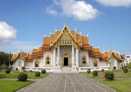 temple de marbre - bangkok