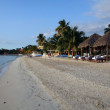Early evening on the beach at a Jamaican Resort...