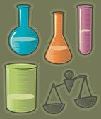 Zelené ikony pro farmacii