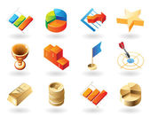 Icons for business abstract