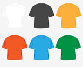 Colored T-shirts