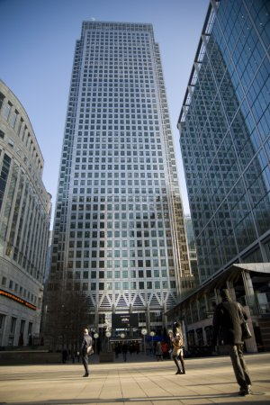 Photo for Canary Wharf: London - Royalty Free Image