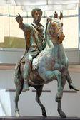 Marcus Aurelius Statue Rome Italy