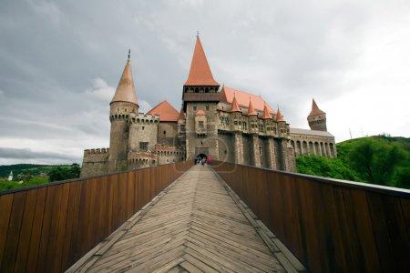 Hunyad Castle Monochrome