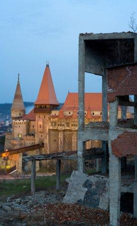 Hunedoara Medieval Fortress Romania
