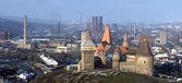 Hunyad Castle Panorama
