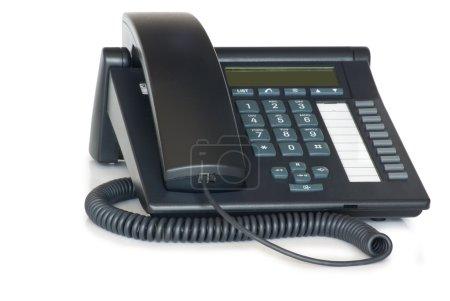 Foto de Teléfono voip digital. aislado sobre fondo blanco. - Imagen libre de derechos