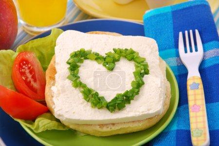 Breakfast for child