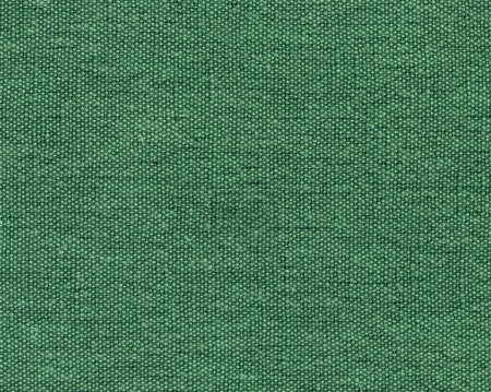 Photo pour Texture de haute qualité de la toile de coton vert, la haute précision des détails - image libre de droit