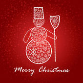 Umělecké vánoční přání