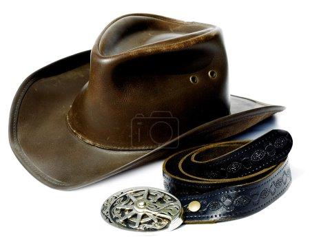 Vintage style Cowboy Hat and Belt