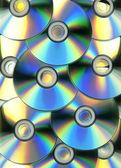 Optický disk koncept obrázek na pozadí