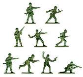 Sbírka tradičních vojáčky
