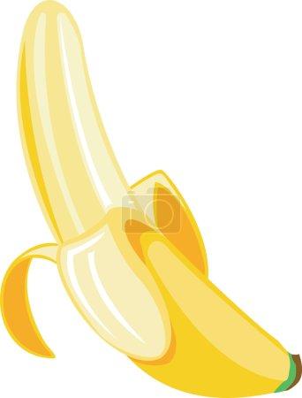 Illustration for Banana Illustration - Royalty Free Image