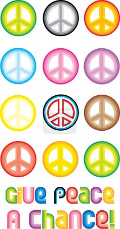 Peace Symbol - Give peace a chance