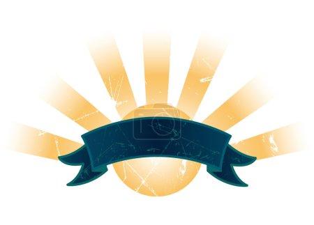 Sunshine Grunge Banner