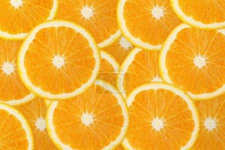 Juicy orange fruit background