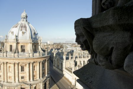 Radcliffe camera Bodleian library university buildings