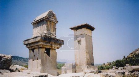 Xanthos ruins harpy tower turkey