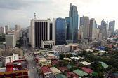 Makati city skyline metro manila the philippines