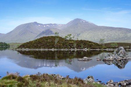 Rannoch moor scottish highlands