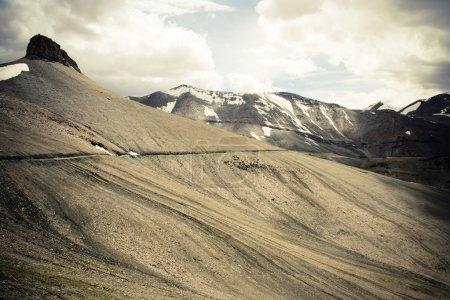 Himalayan road.