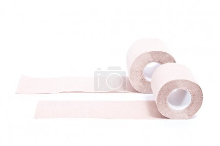 Two rolls of paper
