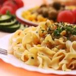 Delicious pasta meal...