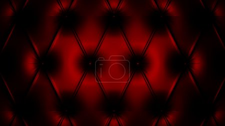3d render of black and red pattern