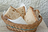 Fresh homemade bread