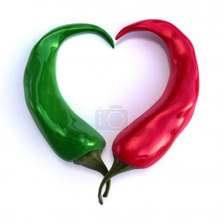 Chili-Herz