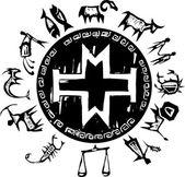 Western Primitive Zodiac #3