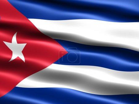 Flag of the Republic of Cuba