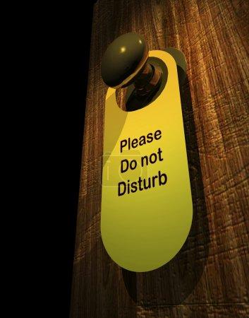 Please don't disturb