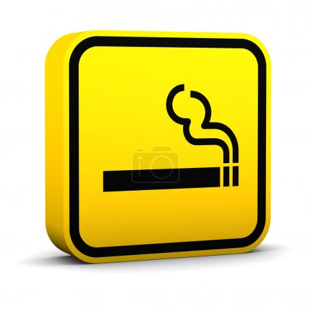 Smoke Area Sign