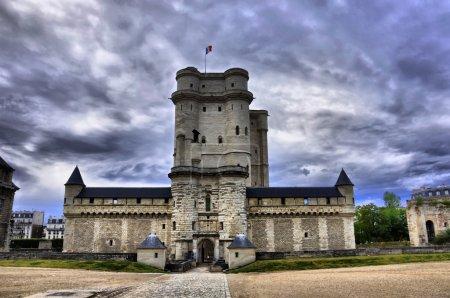 Medieval castle Vincennes HDR